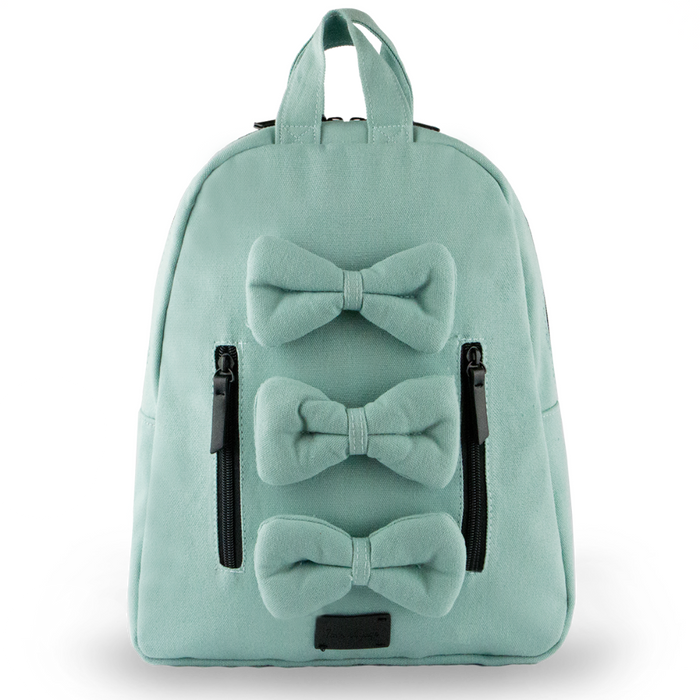 7AM MINI Bows Backpack | Cotton Canvas