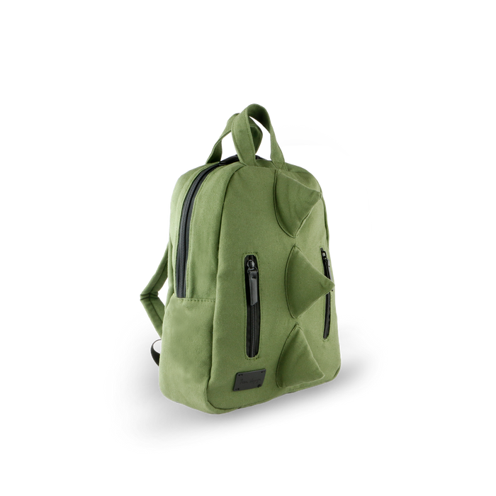 7AM MINI Dino Backpack | Cotton Canvas