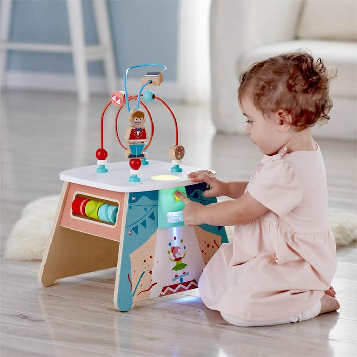 Hape Light-Up Circus Activity Cube