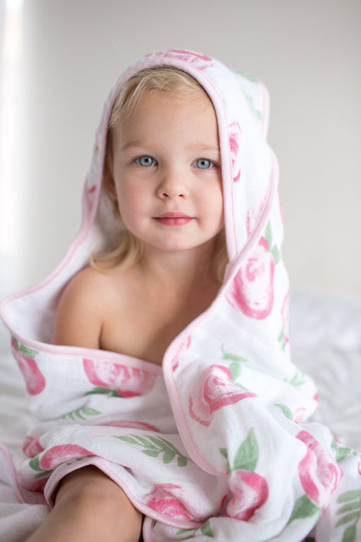 Muslin Hooded Towel - Grace - Copper Pearl - 3