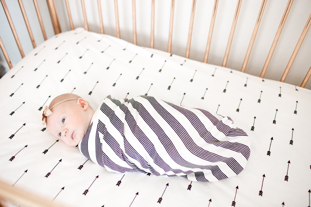 Copper Pearl Knit Swaddle Blanket - Tribe