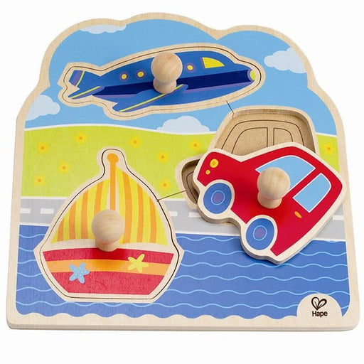 Hape Knob Puzzle On The Go