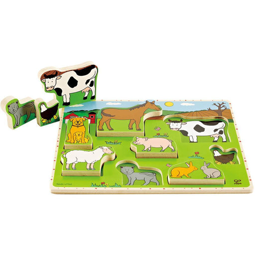 Hape Stand-Up Puzzle Farm Animals