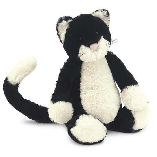 Jellycat Bashful Black & White Kitten