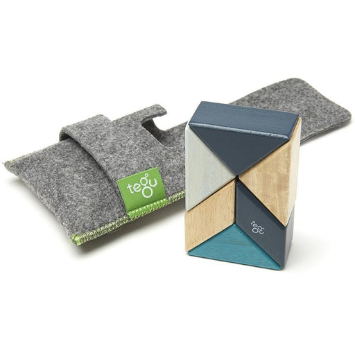 Tegu Pocket Pouch Prism Magnetic Block Set