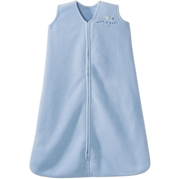 HALO SleepSack Wearable Blanket Blue Microfleece