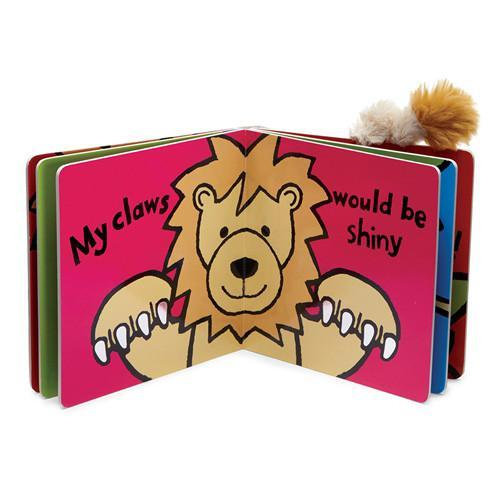 Jellycat If I Were a Lion Book (OLD)