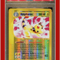 Expedition 2 Ampharos Reverse Holo PSA 7