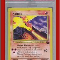 Wizards Black Star Promo 21 Moltres PSA 9