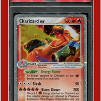 EX Fire Red Leaf Green 105 Charizard EX Holo PSA 9