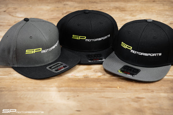 SP Motorsports Snap 6 Panel Mid Profile Snapback Hat