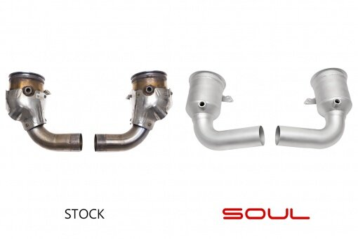 992 Carrera Soul Performance - Cat Bypass Pipes