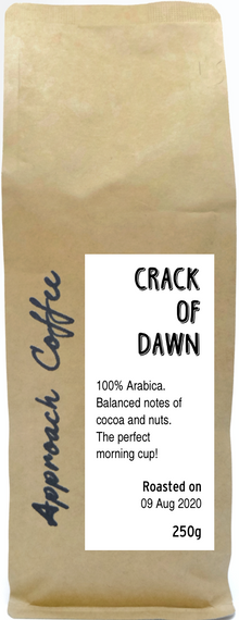 Crack of Dawn Blend (Coffee Beans)