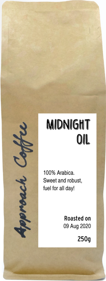 Midnight Oil Blend (Coffee Beans)
