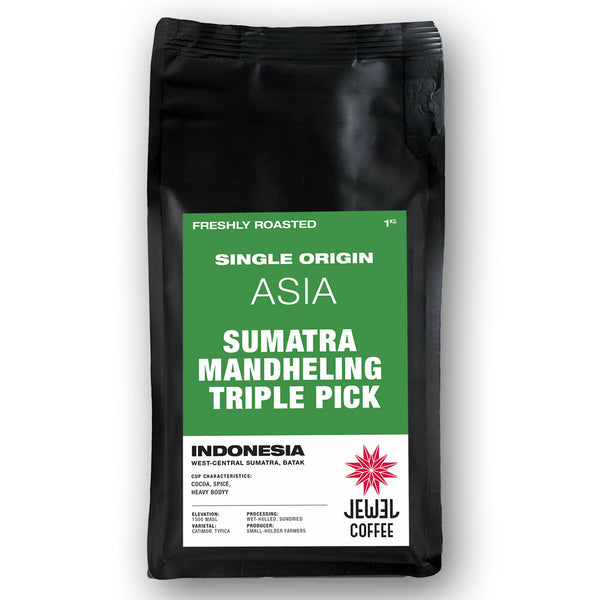 Sumatra Mandheling Triple Pick (Ground Coffee)
