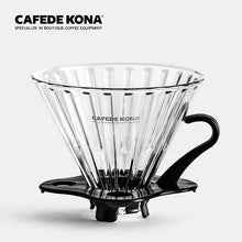 Cafede Kona V60 Glass Dripper