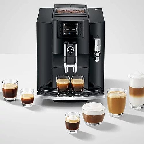 Jura E8 Automatic Coffee Machine (Black)
