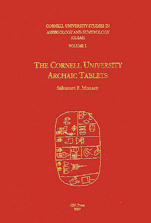 CUSAS 01 - The Cornell University Archaic Tablets