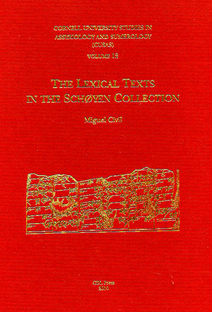 CUSAS 12 -The Lexical Texts in the Schoyen Collection