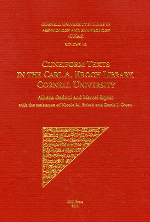 CUSAS 15 - Cuneiform Texts in the Carl A. Kroch Library