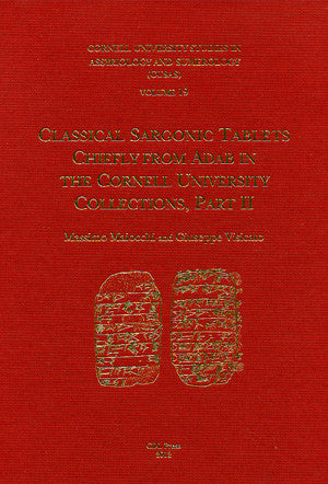 CUSAS 19 - Classical Sargonic Tablets Chiefly from Adab, Part II