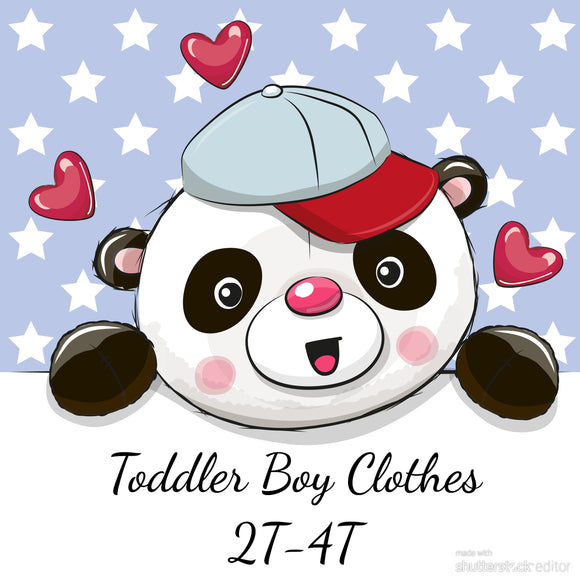 Toddler Boys Apparel (2T-4T)