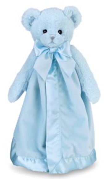 Bearington Baby Blue Huggie Bear Snuggler