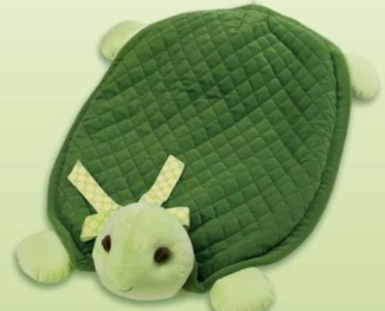 Bearington Baby Tiggles Turtle Belly Blanket