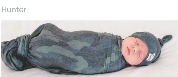 Copper Pearl Swaddle - Camo Print