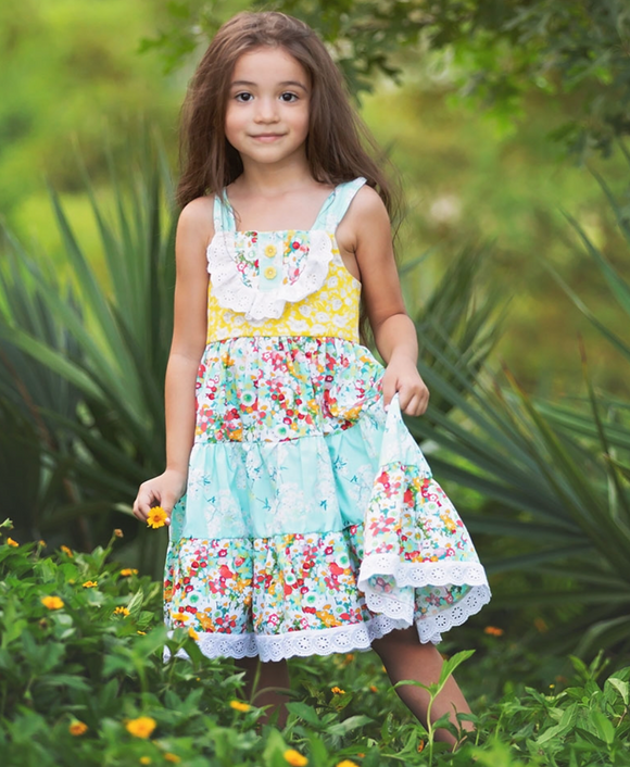 Haute Baby Little Girl Springaling Dress
