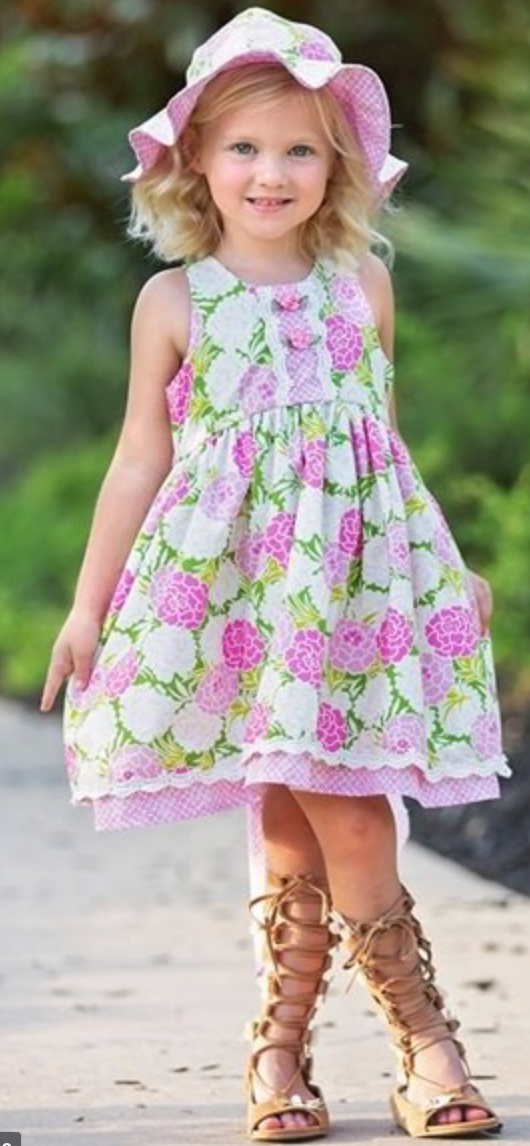 Haute Baby Toddler Summer Blooms Dress