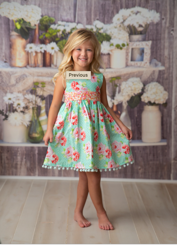 Haute Baby Toddler Garden Isle Dress