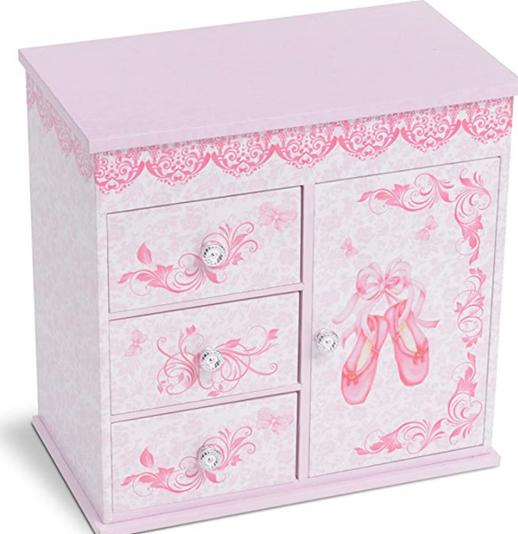 JewelKeeper Jewelry Box-Large Ballerina