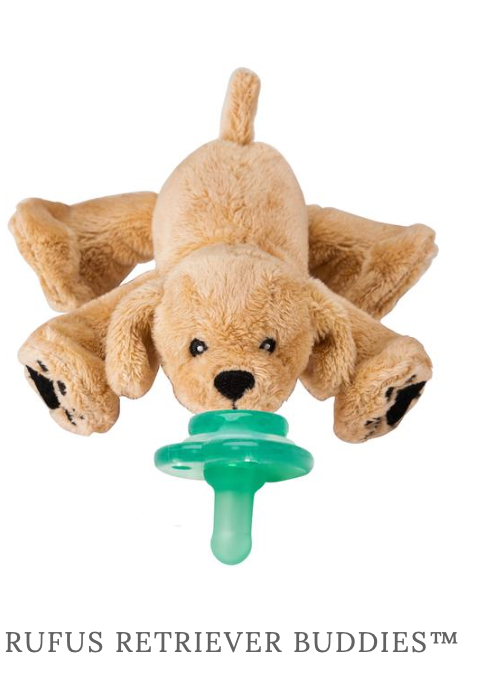 Nookums Pacifier-Rufus Retriever Buddies