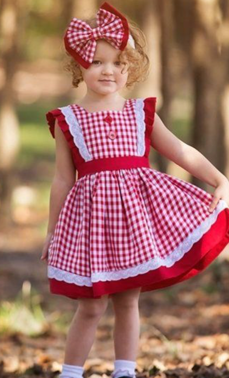 Haute Baby A is for Apple Toddler Dress