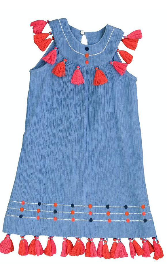 Mer St. Barth Chambray Katrina Dress
