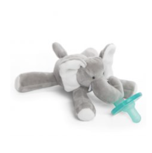 Wubbanub Pacifier-Gray Elephant