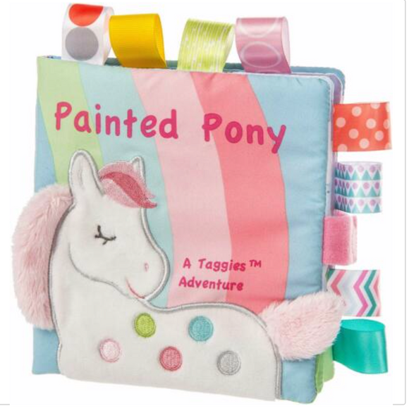 Mary Meyer Painted Pony Soft Taggie Book