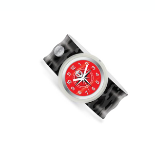 Slap Bracelet Watch-Black Ops