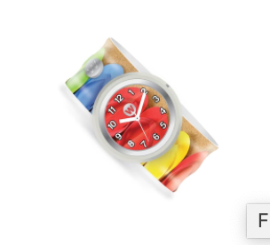 Slap Bracelet Watch-Flip Flops