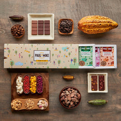 CHOCOLATE GIFT BOX - ASSORTED PACK OF TEN 13G BARS