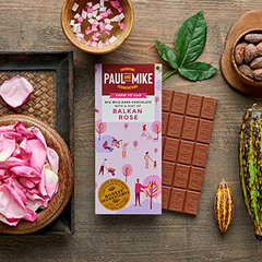 64% MILD DARK BALKAN ROSE VEGAN CHOCOLATE