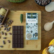 87% DARK PLAIN VEGAN CHOCOLATE