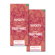 SVAMI GRAPEFRUIT VEGAN CHOCOLATE (PACK OF 2)