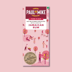 64% DARK JAMAICAN RUM VEGAN CHOCOLATE