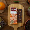 64% DARK SICHUAN PEPPER AND ORANGE PEEL VEGAN CHOCOLATE