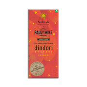 72% DARK SULA DINDORI RESERVE SHIRAZ WINE VEGAN CHOCOLATE