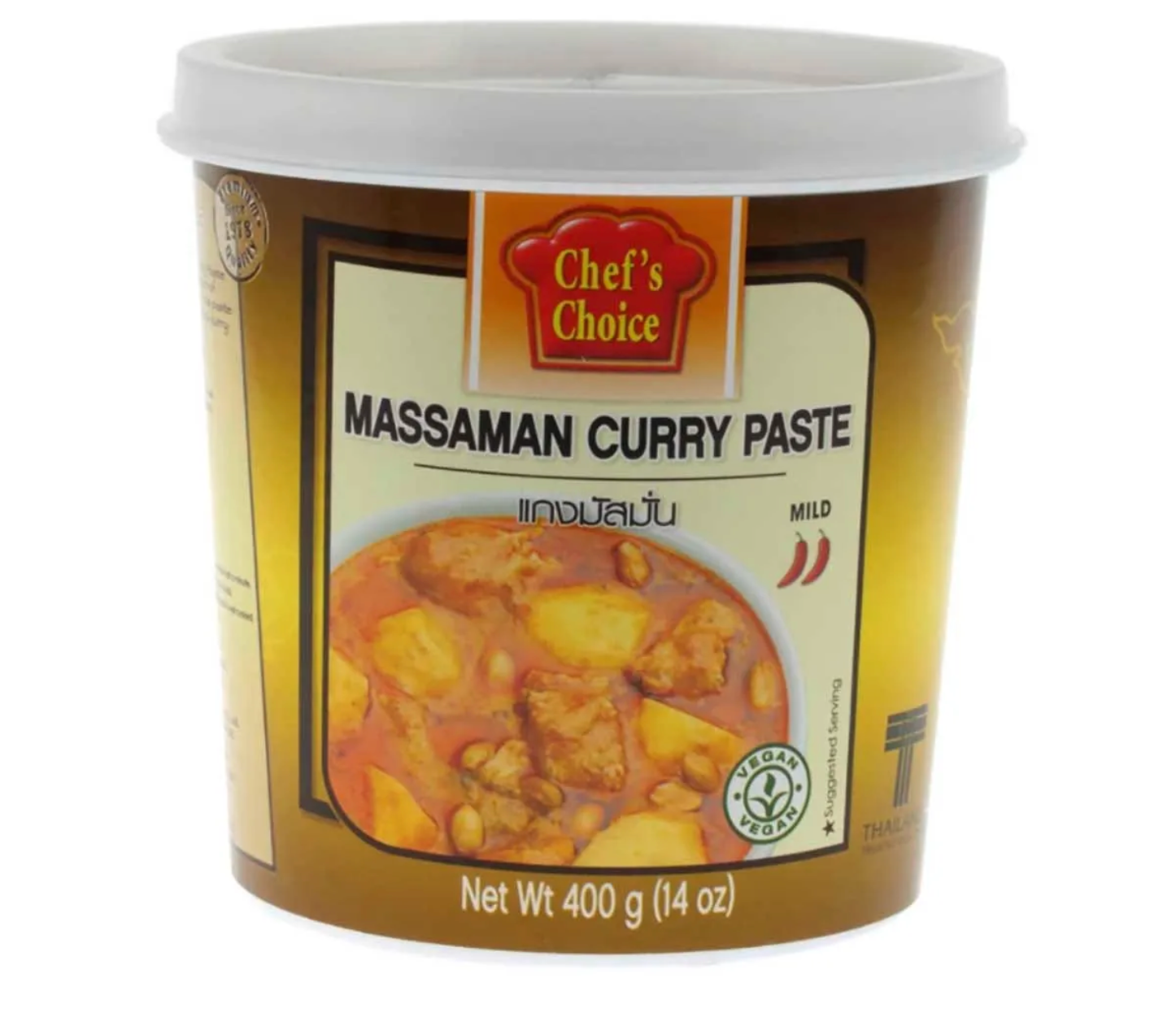 Chef's Choice - Mussaman Curry Paste 400g - Pantree