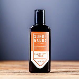 Shampoo de Barba - Light my Fire - Sobrebarba