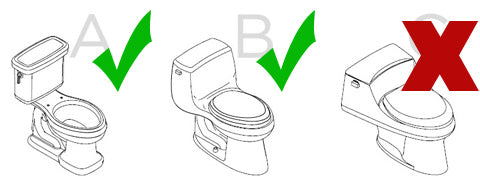 Bio Bidet BB-1000 fit guide
